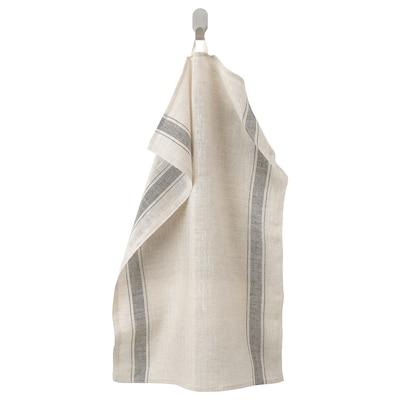 VARDAGEN tea towel beige 70 cm 50 cm