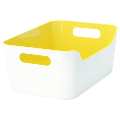 VARIERA Box, light yellow, 24x17 cm