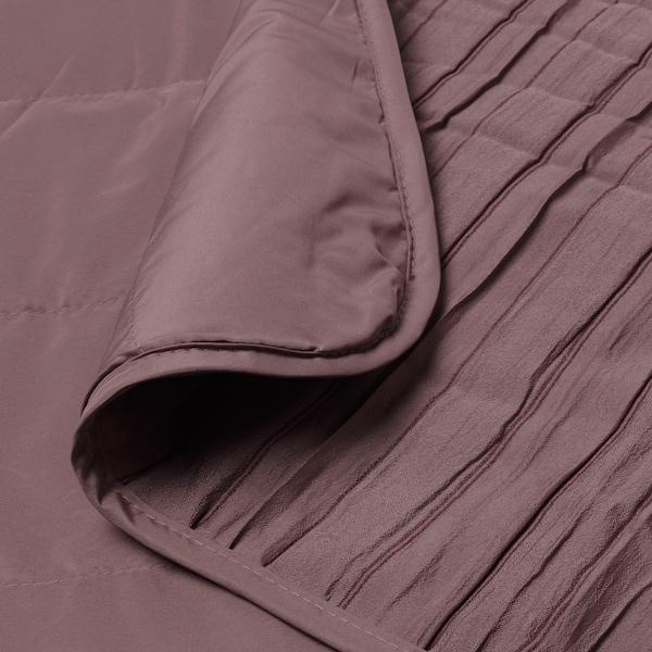 VEKETÅG Bedspread, lilac, 260x250 cm