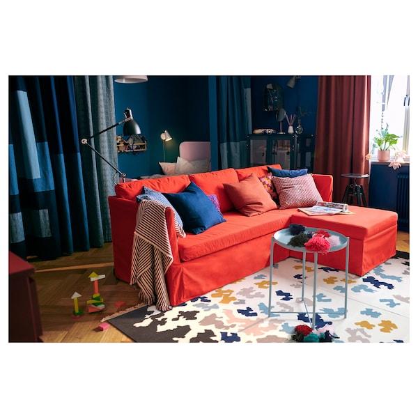 VIDEBÄK Rug, flatwoven, handmade/multicolour, 133x195 cm