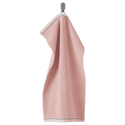 VIKFJÄRD Hand towel, light pink, 40x70 cm
