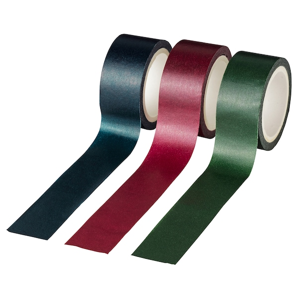VINTER 2020 Roll of tape, assorted colours, 5 m
