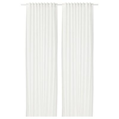 VIVAN Curtains, 1 pair, white, 145x300 cm