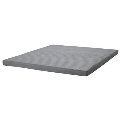 VOGNILL Coir foam mattress, firm/light grey, 180x200 cm