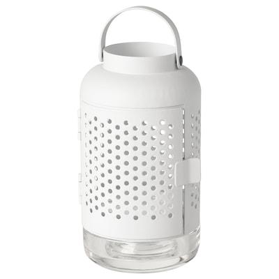 ÄDELHET Lanterna per candeline, bianco, 21 cm