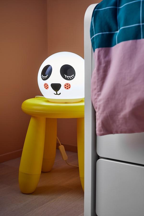 ÄNGARNA Lampada da tavolo a LED, panda