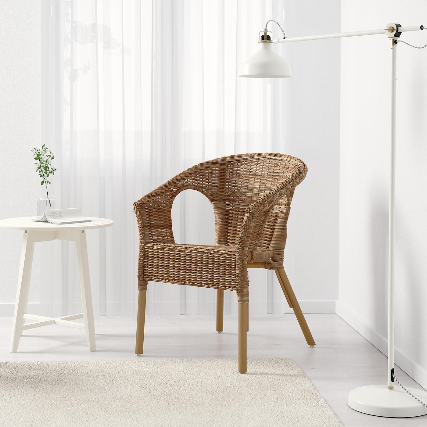 Ikea Mobili In Vimini agen poltrona - rattan, bambù