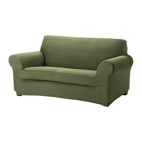 AGERÖD Fodera per divano a 2 posti - verde chiaro - IKEA