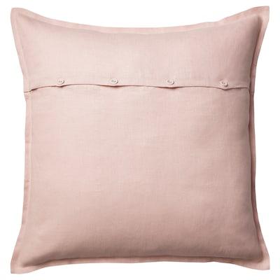 AINA Fodera per cuscino, rosa pallido, 65x65 cm