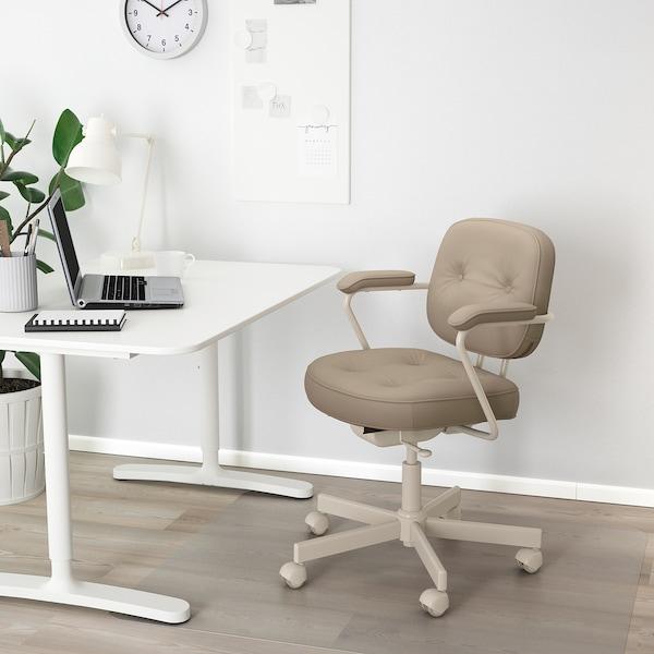 ALEFJÄLL Sedia da ufficio, Grann beige