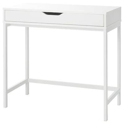ALEX Scrivania, bianco, 79x40 cm
