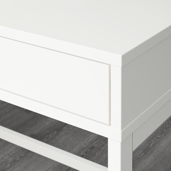 ALEX Scrivania, bianco, 132x58 cm