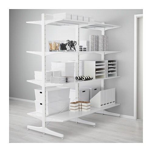 Algot montante piede ripiani ikea for Ikea cornici a giorno