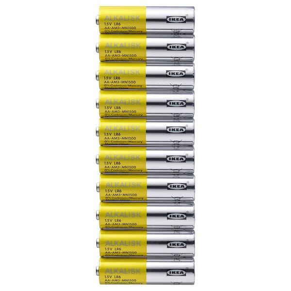 ALKALISK Batteria alcalina, LR6 AA 1.5V