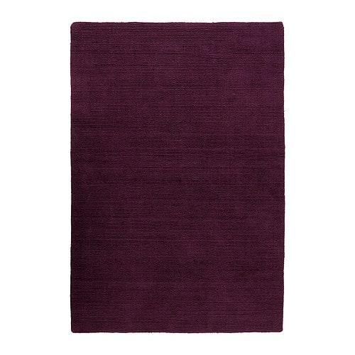 Tappeto, pelo corto IKEA Poiché è in pura lana vergine, il tappeto ...