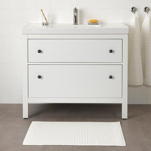 ALSTERN Tappeto Per Bagno Bianco IKEA