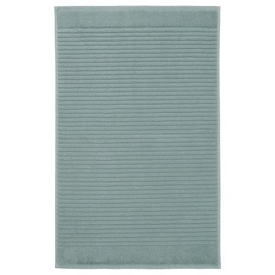 ALSTERN Tappeto per bagno, grigio chiaro-verde, 50x80 cm