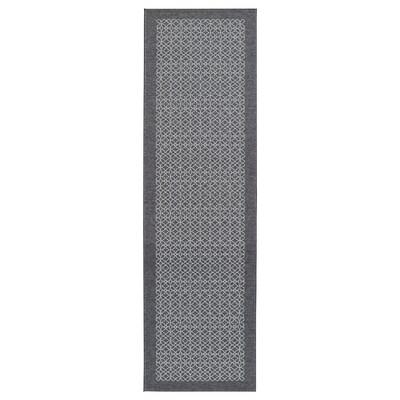 AMELA tappeto cucina grigio/fantasia 180 cm 50 cm 0.90 m²