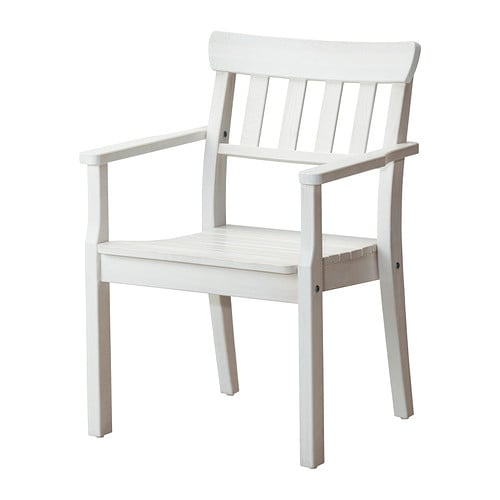 Sedia con braccioli da giardino IKEA Puoi sovrapporre fino a 4 sedie ...