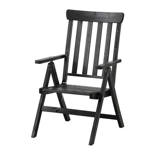 Ngs sedia reclinabile da giardino pieghevole marrone for Sedia pieghevole ikea