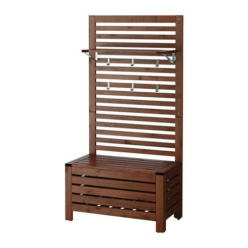 Ikea Panche Da Esterno.Applaro Panca Pannello Ripiano Da Giardino Ikea
