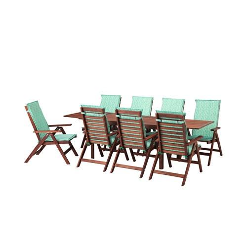 Pplar tavolo 8 sedie relax da giardino pplar for Sedie da giardino ikea
