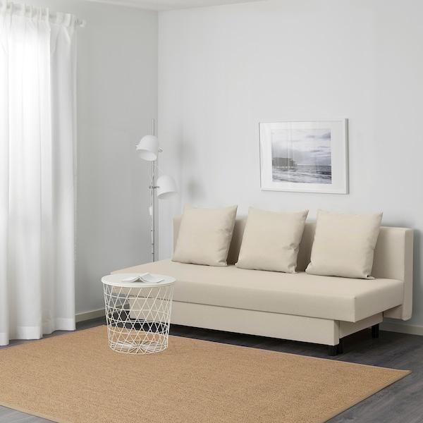 ASARUM Divano letto a 3 posti, beige