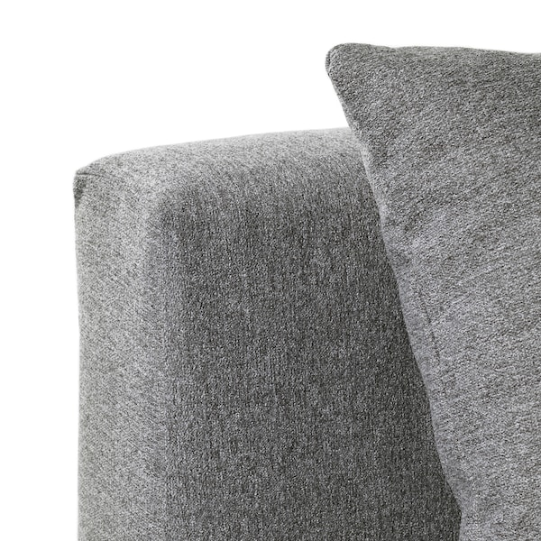 ASARUM divano letto a 3 posti grigio 191 cm 84 cm 73 cm 193 cm 70 cm 41 cm 130 cm 191 cm