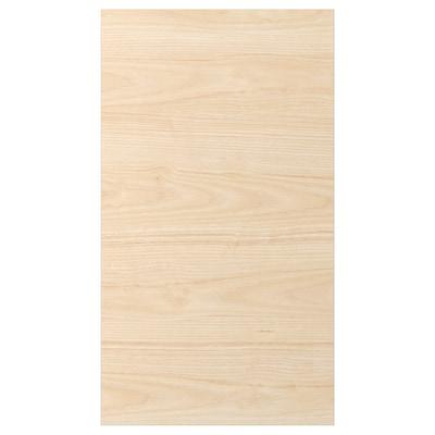 ASKERSUND Frontale per lavastoviglie, effetto frassino chiaro, 45x80 cm