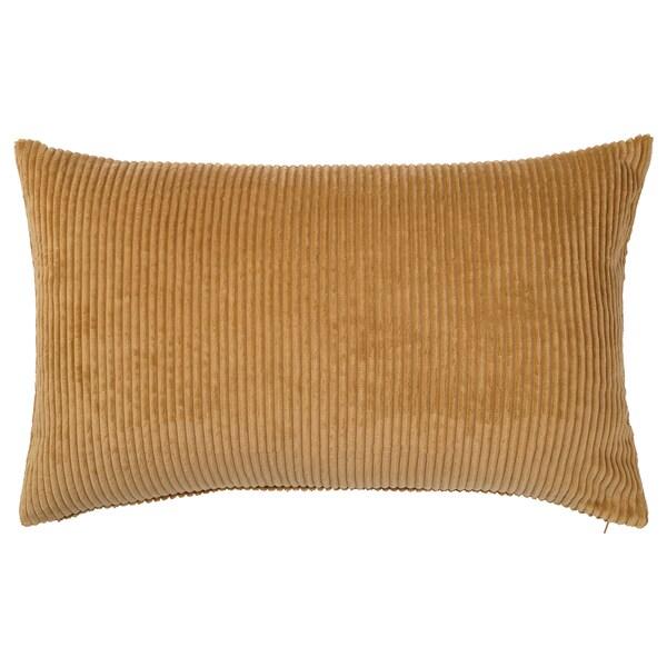 ÅSVEIG Fodera per cuscino, beige scuro, 40x65 cm