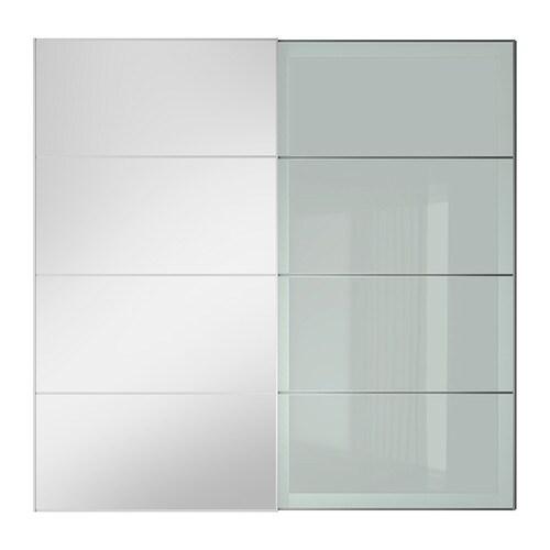 Auli sekken coppia di ante scorrevoli 200x201 cm for Ikea ante scorrevoli