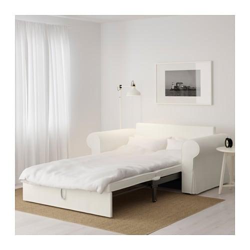 BACKABRO Divano letto a 2 posti - Tygelsjö beige - IKEA