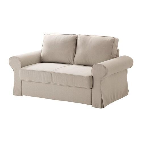 BACKABRO Fodera per divano letto a 2 posti, Risane naturale