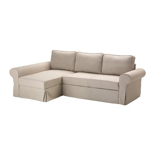 Backabro marieby divano letto con chaise longue risane - Fodera divano con chaise longue ...
