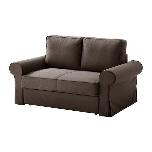 BACKABRO / MATTARP Divano letto a 2 posti - Jonsboda marrone, - IKEA