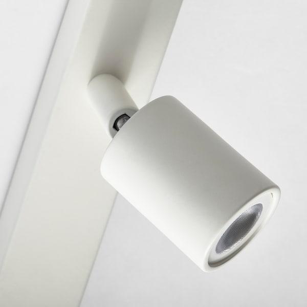 BÄVE Binario soffitto 5 faretti LED, bianco