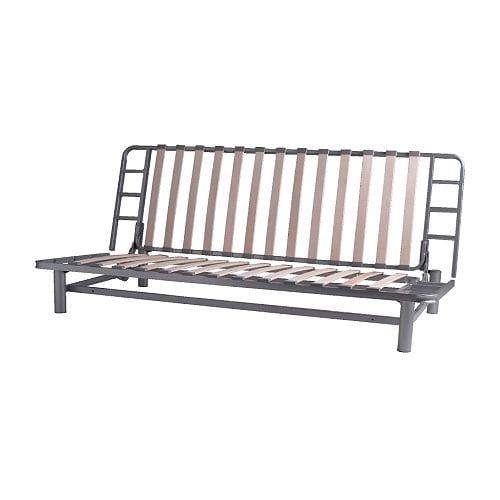 ... divano letto a 3 posti IKEA Si trasforma facilmente in un letto per