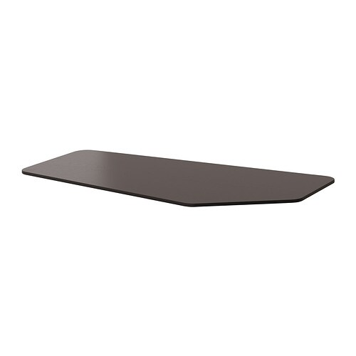 bekant piano tavolo a 5 lati marrone nero ikea. Black Bedroom Furniture Sets. Home Design Ideas