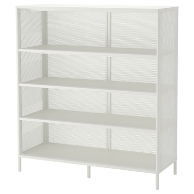 BEKANT Scaffale, bianco, 121x134 cm