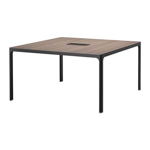 Bekant tavolo riunioni grigio nero ikea - Tavolo riunioni ikea ...