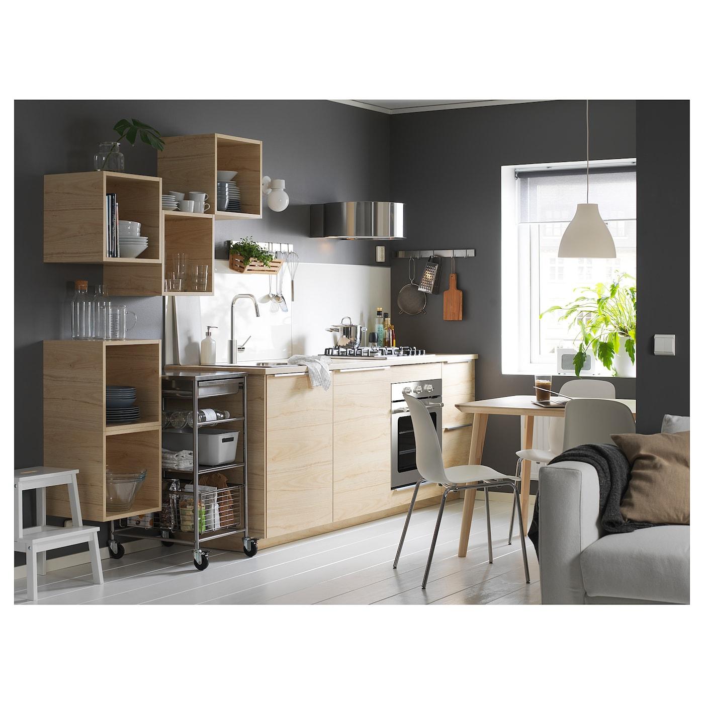 3 Ikea Bekvam 50 cm confezione Sgabello colore bianco