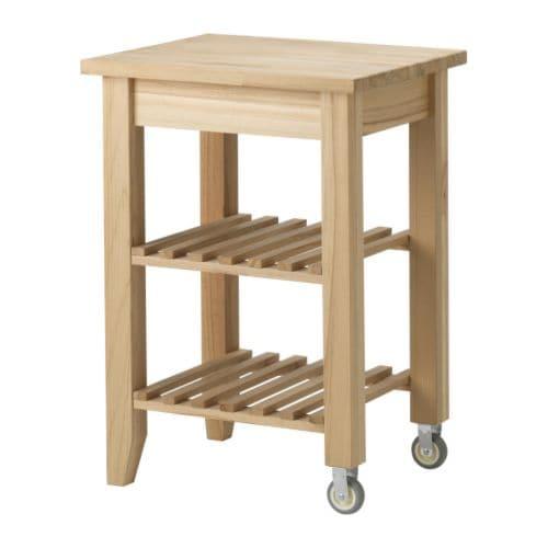 Bekv m carrello ikea - Carrello portafrutta legno ...
