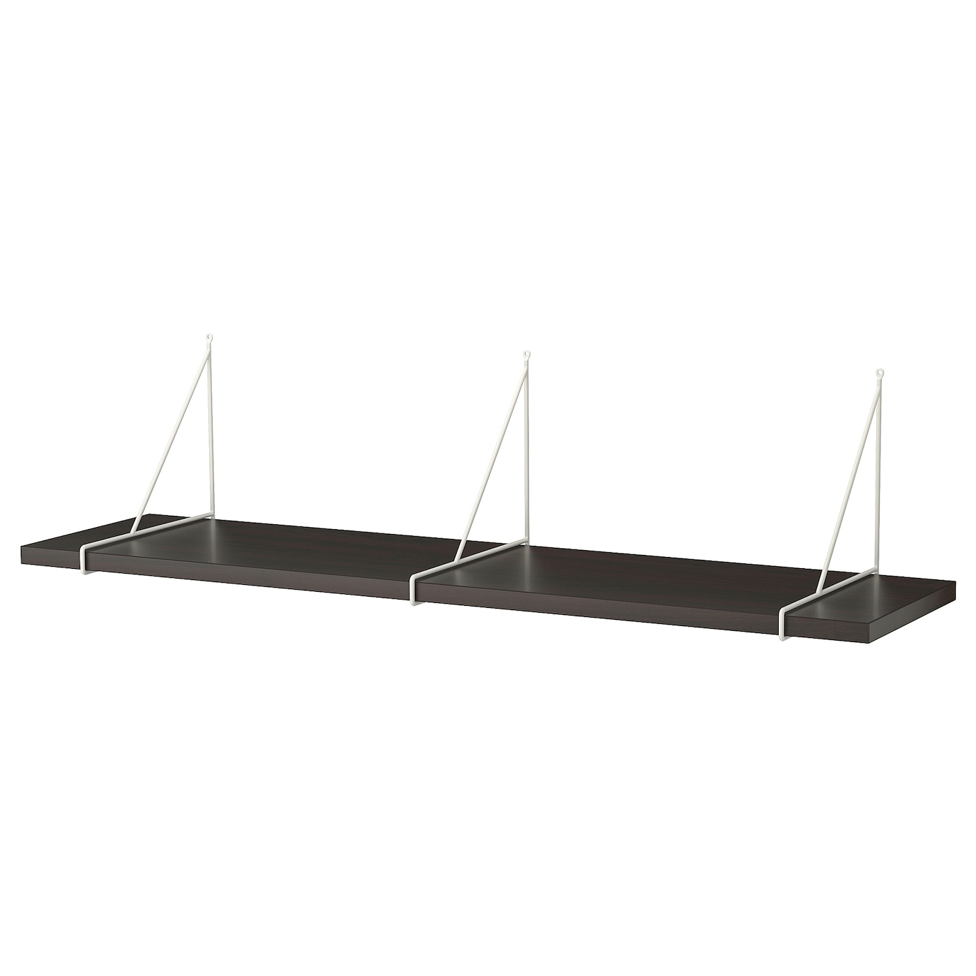 BERGSHULT Mensola, marrone nero, 120x30 cm IKEA IT