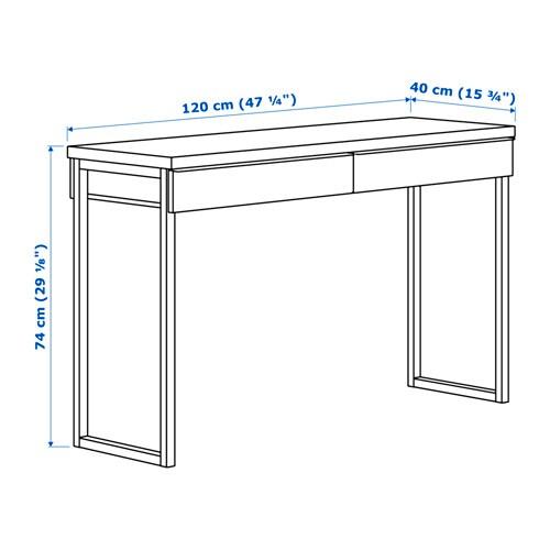 Larghezza scrivania misure standard scrivania cameretta - Besta ikea misure ...
