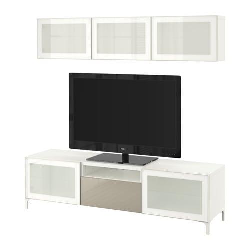 Best combinazione tv ante a vetro ikea for Ikea contenitori vetro