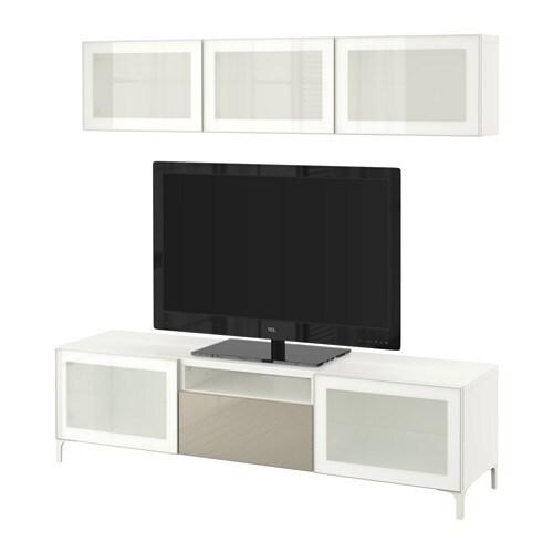 Best combinazione tv ante a vetro ikea - Ikea portacandele vetro ...