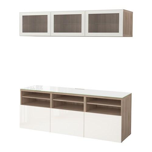 Best combinazione tv ante a vetro ikea for Ikea vetrine in vetro