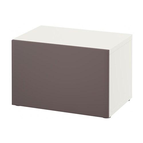 Best mobile con anta bianco valviken marrone scuro ikea - Ikea besta mobel ...