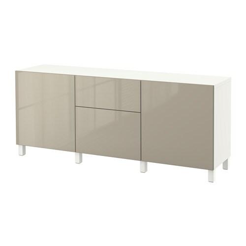 Best mobili con cassetti bianco selsviken lucido beige - Mobili buffet ikea ...
