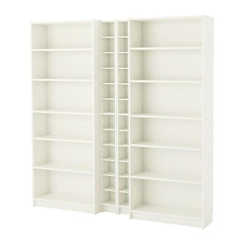 Billy gnedby libreria bianco ikea for Libreria arredamento ikea